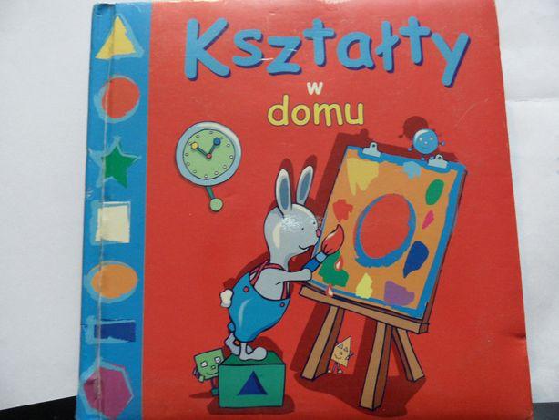Książeczka dla dzieci, twarde kartki: Kształty