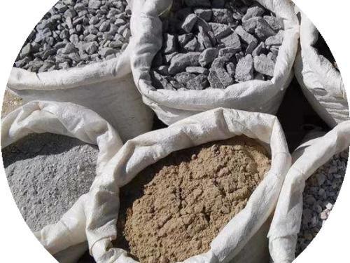 Песок отсев щебень пісок відсів щебінь недорого фасовка 35-40 кг