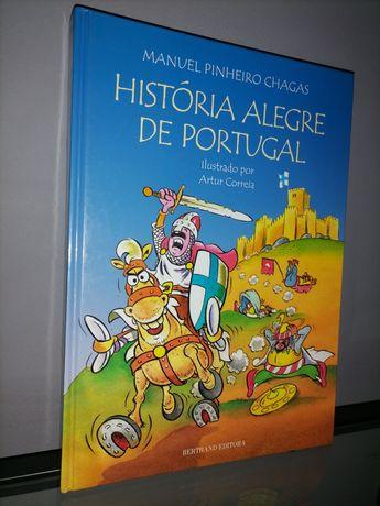 """Livro """"História Alegre de Portugal"""""""