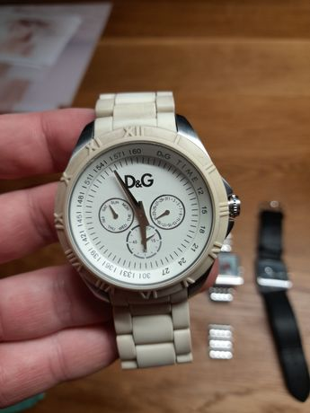 Zegarek męski Dolce Gabbana D&G biały