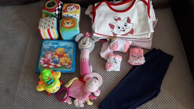 Zabawki i ubrania