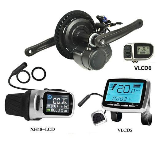 Silnik elektryczny rower TSDZ2 Rapid MID 750W+bateria 48V 12.5Ah biodo