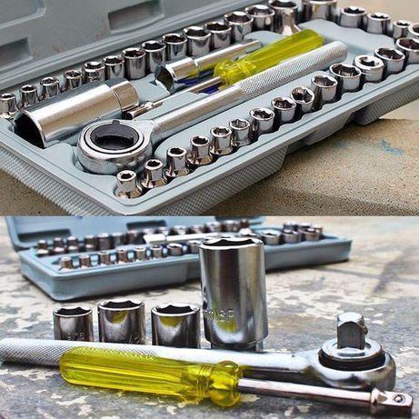 Универсальный набор инструментов AIWA 40 шт ед в 1 головок ключейКлючи