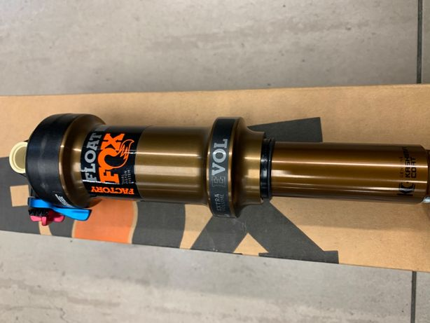 Damper FOX Float DPS 3-pos-adj NOWY 215.9 x 63.5mm kashima