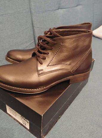 Buty trzewiki sztyblety nowe skorzane r 43