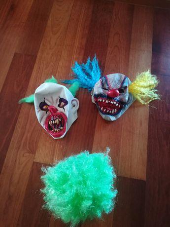 Máscaras de palhaços