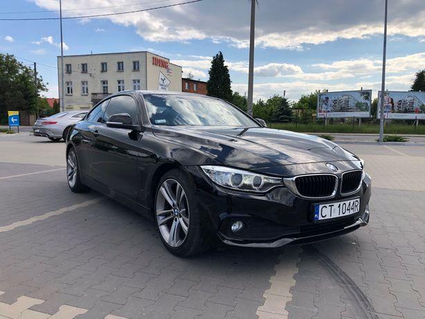 BMW 4 420D Coupe 2014Rok BEZWYPADKOWY Bixenon Automat okazjaZamiana