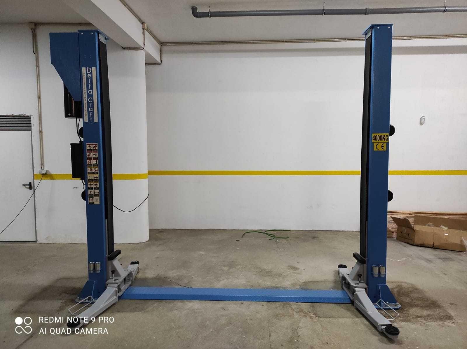 Elevador Auto de duas colunas eletro-hidráulico 4T