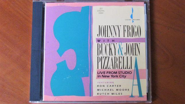 Johnny Frigo with Bucky & John Pizzarelli; Live From Studio A; Chesky