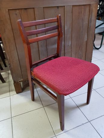 Stare krzesła PRL lata 60. 70.