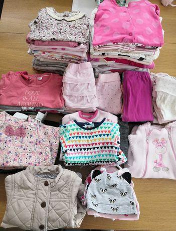 Wyprawka/ ubranka dla dziewczynki-56,62,68-Next,H&M,Newbe/body,pajace