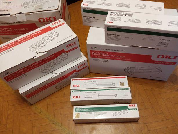 Витратні матеріали тонер, друми до принтерів OKY 430, 410 OKY 431, 411