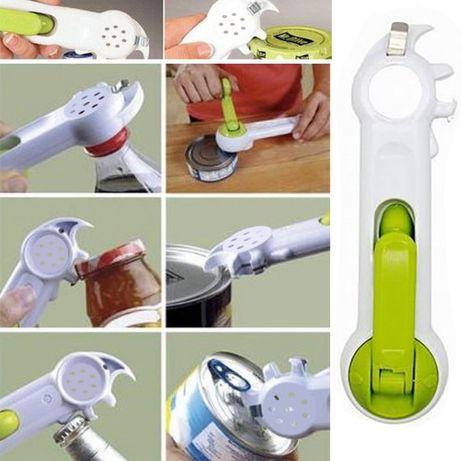 Открывалка, консервный нож 7 в 1 Kitchen CanDo