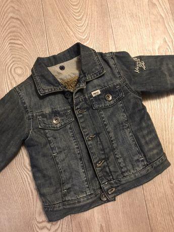 Джинсовая куртка, курточка джинсовая для мальчика, MEXX фирменная