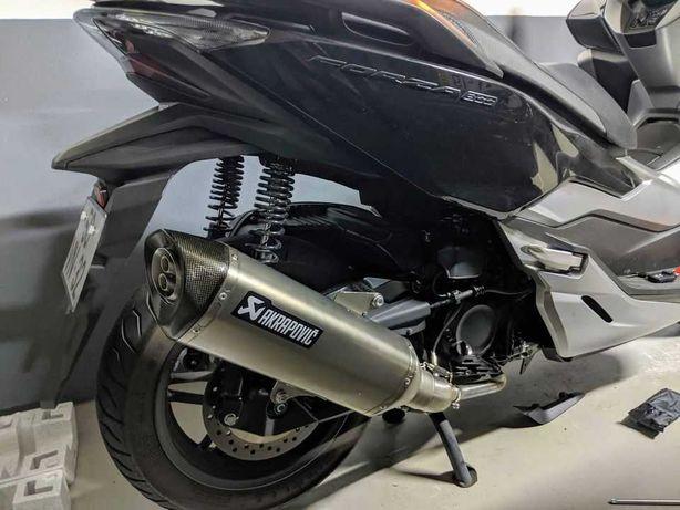 Escape Akrapovic Honda Forza 300cc