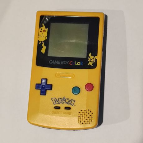 Game boy / Gameboy Color versão Pokémon (Pikachu) da nintendo