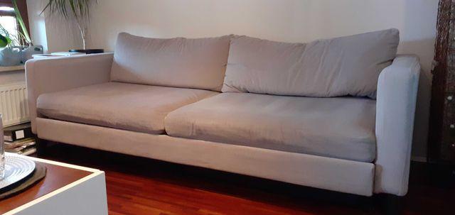 Sofa rozkładana IKEA 90x220 [pow. spania 140x200] oddam za darmo