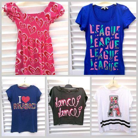 T-shirts Menina C&A e Bershka 8-13 Anos Verão