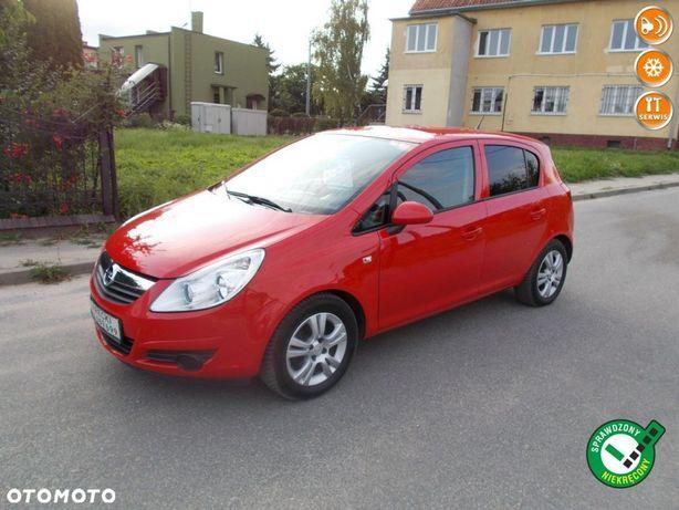 Opel Corsa Opłacona Zdrowa Zadbana Serwisowana Klimatyzacją 1Wł 100 Aut