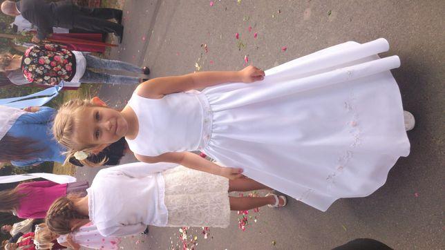 Sukienka komunijna 128-134