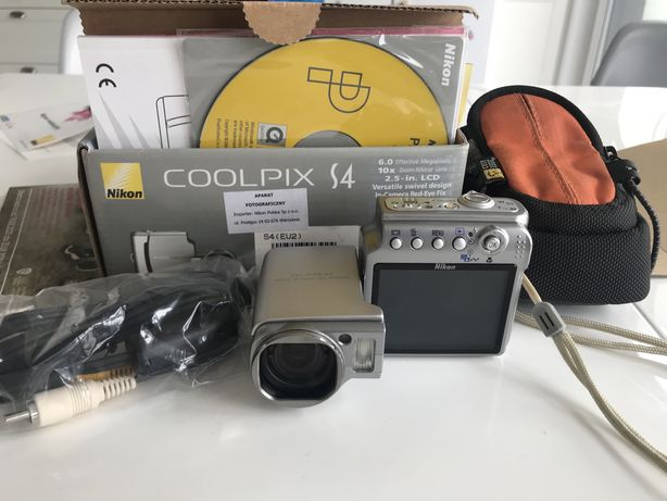 Aparat coolpix S4