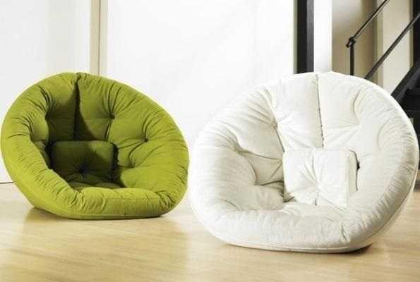 Кресло раскладушка бескаркасная мебель мягкая часть ОБНИМАШКА