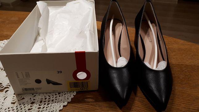 Esprit buty czółenka Laurel Vegan rozm 39 czarne