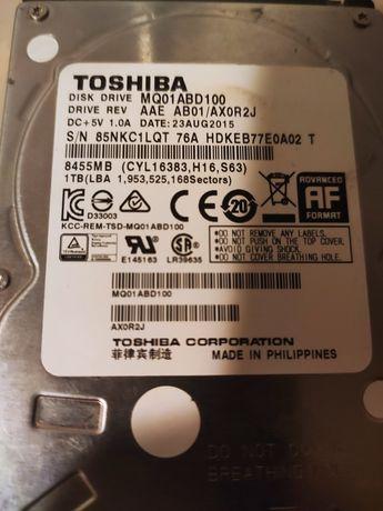 Продам жёсткий диск TOSHIBA на 1тб