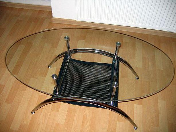 Stolik szklany blat (AGATA)
