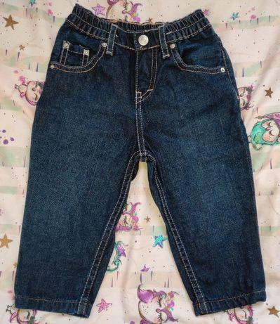 spodnie jeans levis rozm. 9-12 mies.