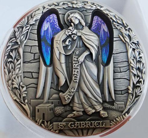 Moneta Archanioł GABRIEL, Kamerun 2020, 2000 franków