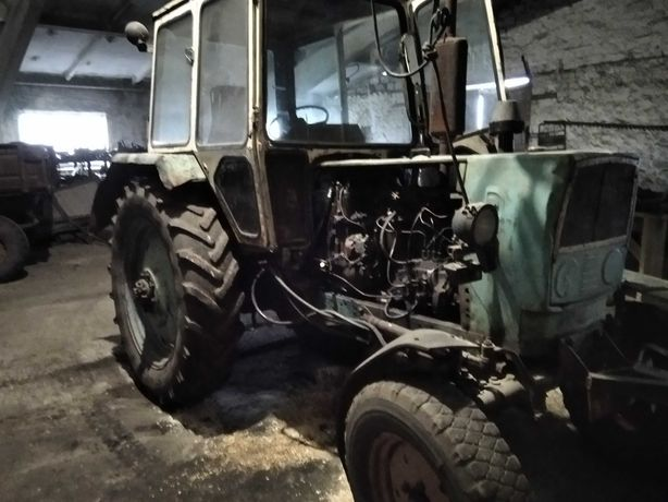 Трактор юмз-6 на ходу