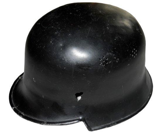 Hełm / kask niemiecki aluminiowy - M34 policyjny (SS)
