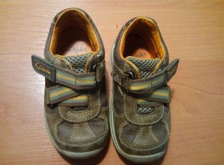 Clarks кожаная обувь