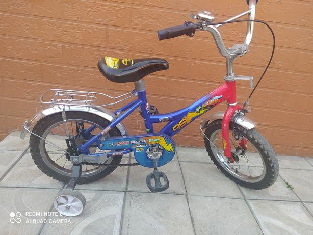 Детский двохколесный велосипед, 14 дюймов