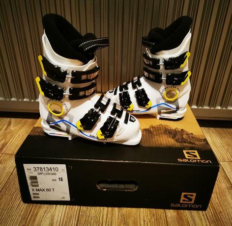 Buty narciarskie dziecięce SALOMON X MAX 60 T r. 18
