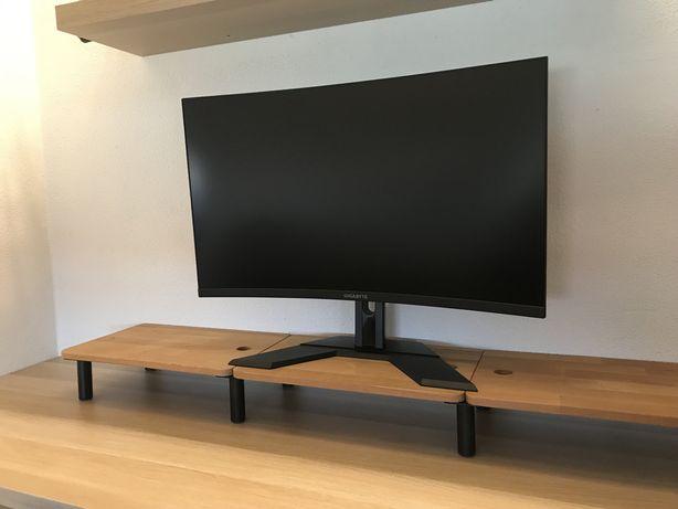 Monitores 32' Gigabyte curvo (2 unidades)