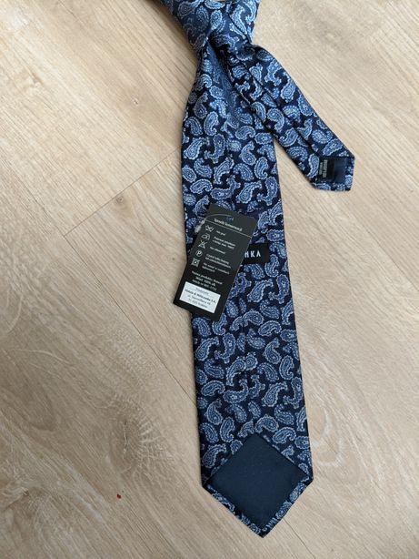 Krawat Wólczanka nowy