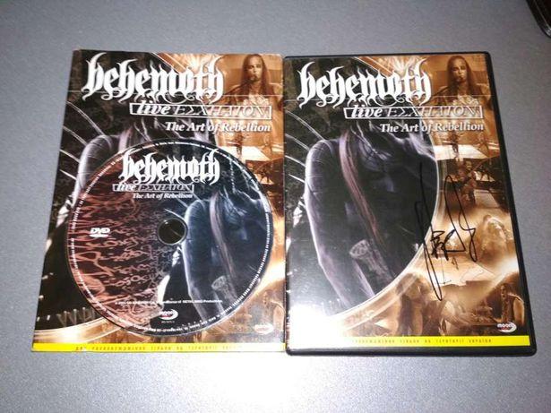 """DVD BEHEMOTH- С автографом Adam'a""""Nergal'a""""Darski"""