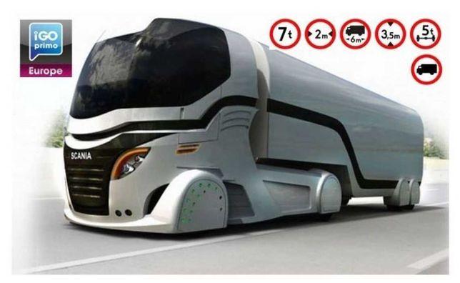 Program Igo Bus EU oraz IGO Primo Truck EU najnowsze mapy