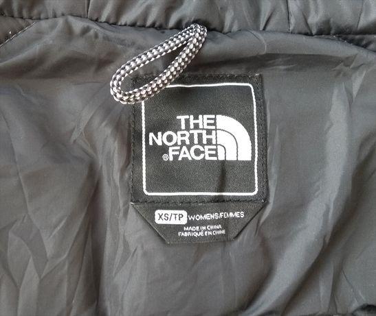 Оригинал THE NORTH FACE женский пуховик с поясом куртка XS-S