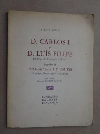 D. Carlos I e D. Luís Filipe de Delfim Santos