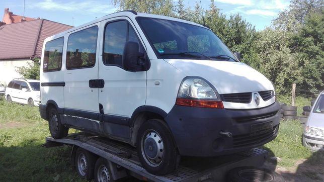 Renault Master 2.5 dci 9 osob  2007 rok uszkodzony silnik!!