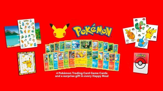 Cartas Pokémon McDonalds