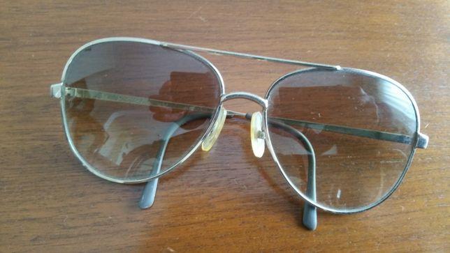 Óculos de sol vintage tipo ray ban aviator