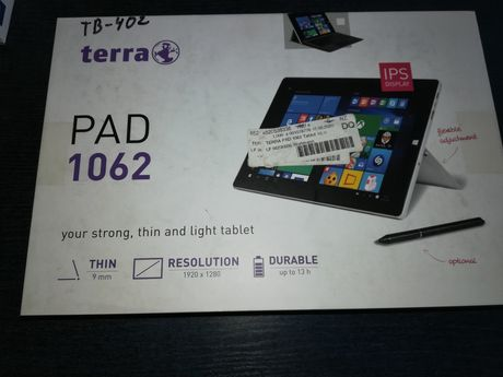 Terra 1062 27,4 cm (10,8 cala) tablet z systemem Windows