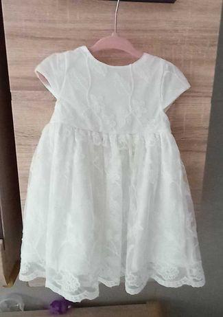 Sukienka do chrztu ubranko do chrztu komplet