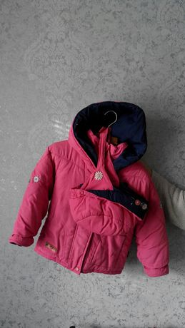 Куртка детская для девочек розовая