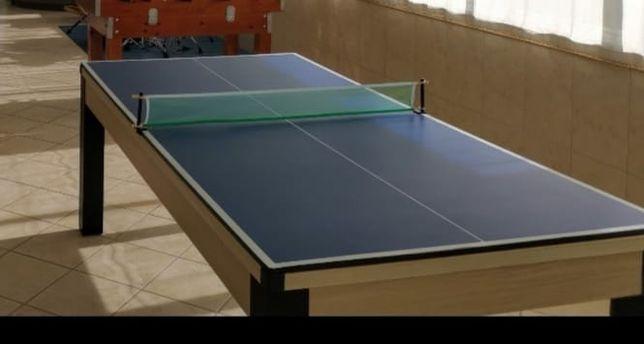 Mesa de jantar, Ping Pong e Snooker