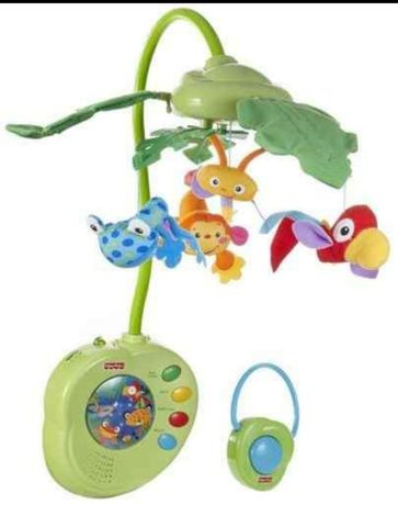 Karuzela rainforest Fisher Price